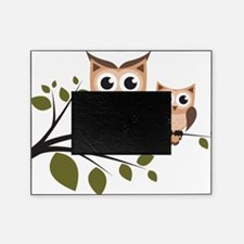 Brown Owl Duo Picture Frame