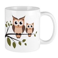 Brown Owl Duo Mugs