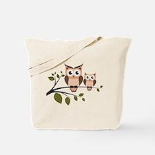 Brown Owl Duo Tote Bag