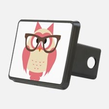 Owl with Glasses Hitch Cover