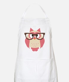Owl with Glasses Apron