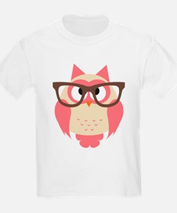 Owl with Glasses T-Shirt