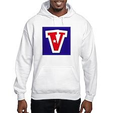 Patriotic Monogram V Hoodie