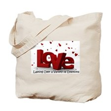 Lasting Over Variety Emotions Tote Bag