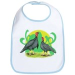 Blue Slate Turkeys2 Bib