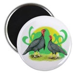 Blue Slate Turkeys2 Magnet