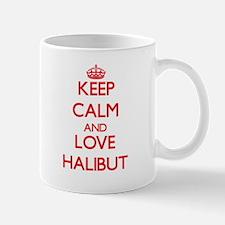 Keep calm and love Halibut Mugs