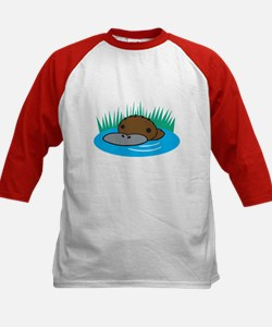 Silly Platypus in the Water Tee