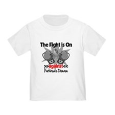 The Fight is On Against Parkinsons Disease T-Shirt