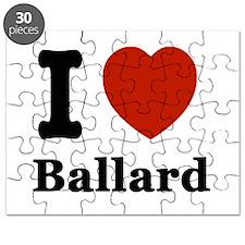 I love Ballard Puzzle