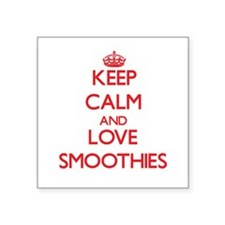 Keep calm and love Smoothies Sticker
