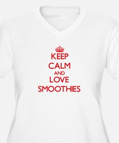 Keep calm and love Smoothies Plus Size T-Shirt