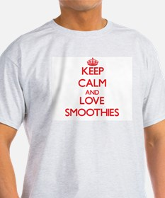 Keep calm and love Smoothies T-Shirt