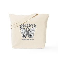 Parkinsons Disease Believe Tote Bag