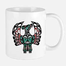 Haida Thunderbird wit apparel Mugs