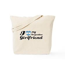 I love my Argentine girlfriend Tote Bag