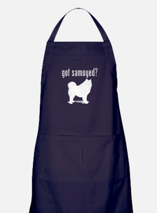 got samoyed? Apron (dark)