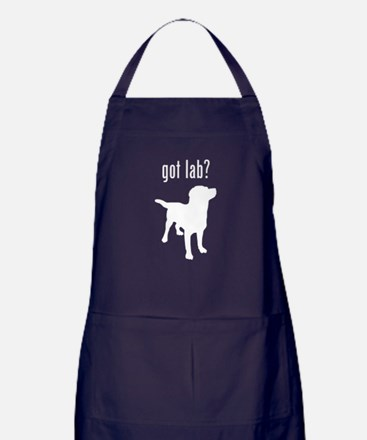 got lab? Apron (dark)