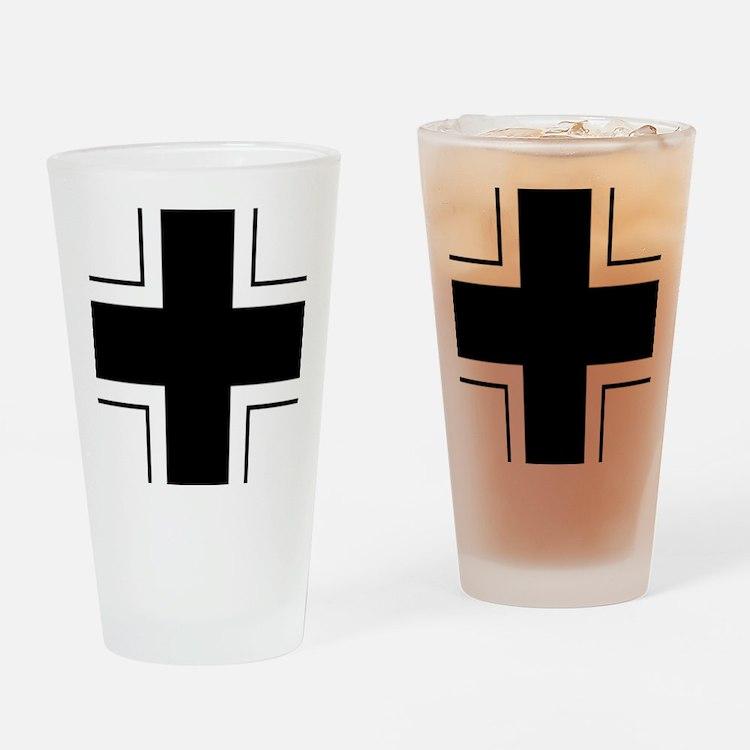 Balkenkreuz Drinking Glass
