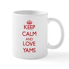 Keep calm and love Yams Mugs