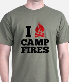 I Love Campfires T-Shirt