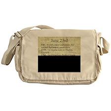 June 23rd Messenger Bag
