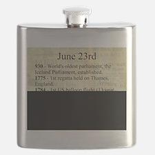 June 23rd Flask