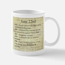 June 22nd Mugs