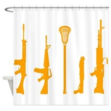 Lacrosse Weapons 2 Shower Curtain
