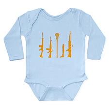 Lacrosse Weapons 2 Long Sleeve Infant Bodysuit