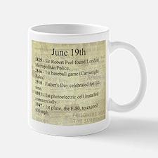 June 19th Mugs