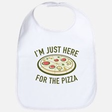 I'm Just Here For The Pizza Bib