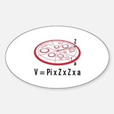 Pizza Equation Decal