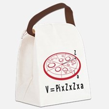 Pizza Equation Canvas Lunch Bag