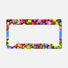 I'm So Sweet - Colorful Candy License Plate Holder
