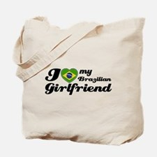 I love my Brazilian girl frie Tote Bag