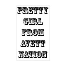 pgf avett nation Decal