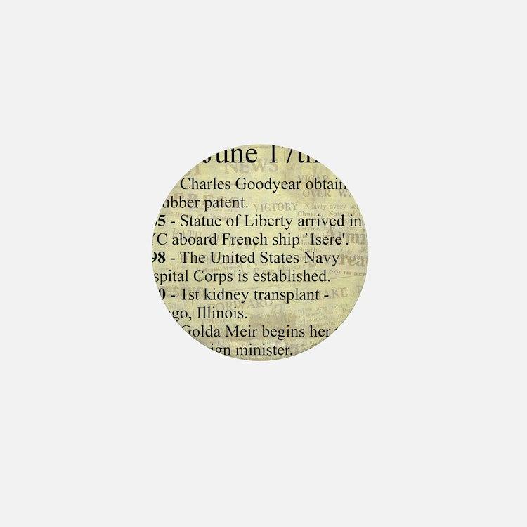 June 17th Mini Button (10 pack)