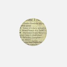 June 17th Mini Button