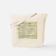 June 17th Tote Bag