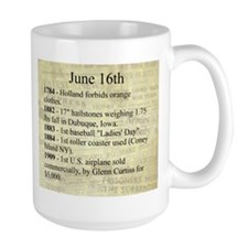 June 16th Mugs