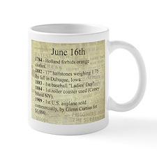 June 16th Mugs