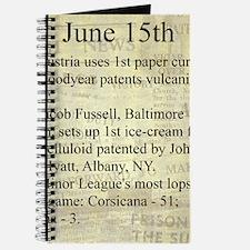 June 15th Journal