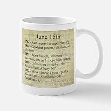 June 15th Mugs
