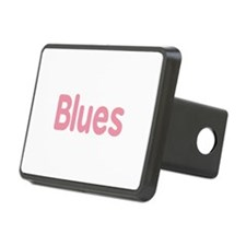 Blues word pink music design Hitch Cover