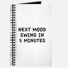 Next Mood Swing In 5 Minutes Journal