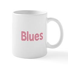 Blues word pink music design Mugs