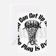 Lacrosse_Smack_PlaysOver_Bak_600 Greeting Cards