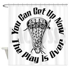 Lacrosse_Smack_PlaysOver_Bak_600 Shower Curtain