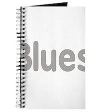 Blues word grey music design Journal